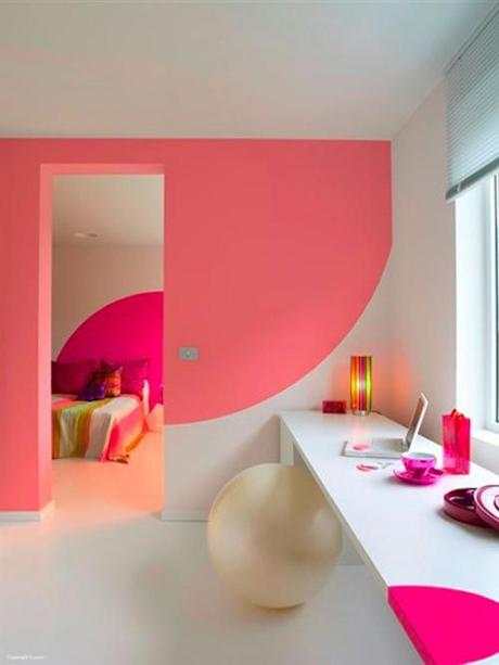 blog deco loversofmint - idees murs color block