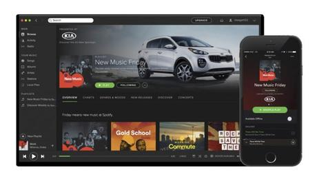Spotify France lance les playlists sponsorisées