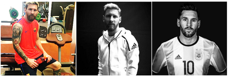 Lionel Messi: la transformation physique
