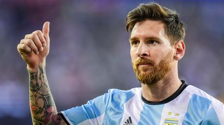 Lionel Messi Barbe