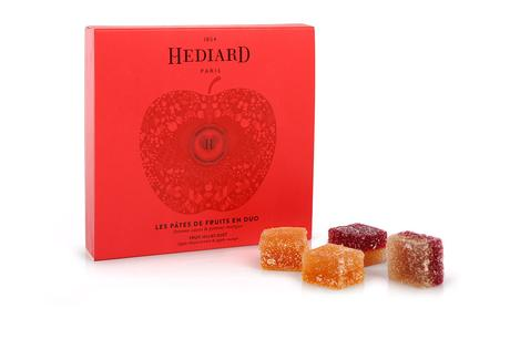 HEDIARD PRESENTE SA COLLECTION SAINT VALENTIN 2017 : « EXQUISE TENTATION »