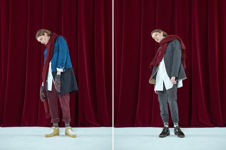 JOHNUNDERCOVER – F/W 2017 COLLECTION LOOKBOOK