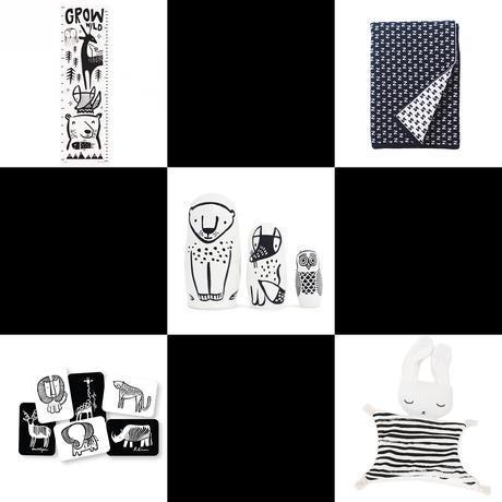 Wee Gallery, des jouets en noir et blanc pour enfants