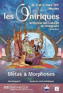 Les Oniriques 2017 - Méta & Morphoses