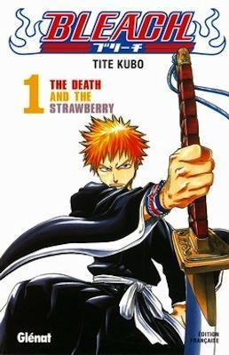 Couverture Bleach, tome 01 : The Death and the strawberry