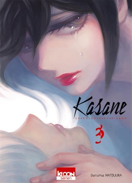 Couverture Kasane : La voleuse de visage, tome 3