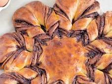 Brioche étoilée Nutella