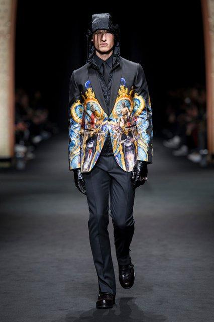 Versace, Fashion Week Homme, Milan, Automne-Hiver 2017-2018