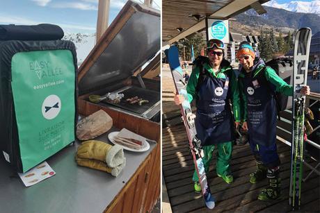 Serre Chevalier : ils vous livrent vos repas sur les pistes de ski