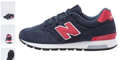 NEW BALANCE ML565 - Baskets basses - navy