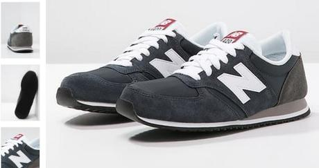 NEW BALANCE U420 - Baskets basses - navy à 90€