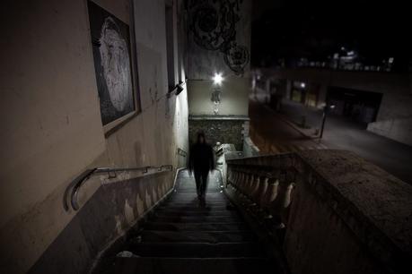 Before it gets here - photographie de nuit conceptuelle