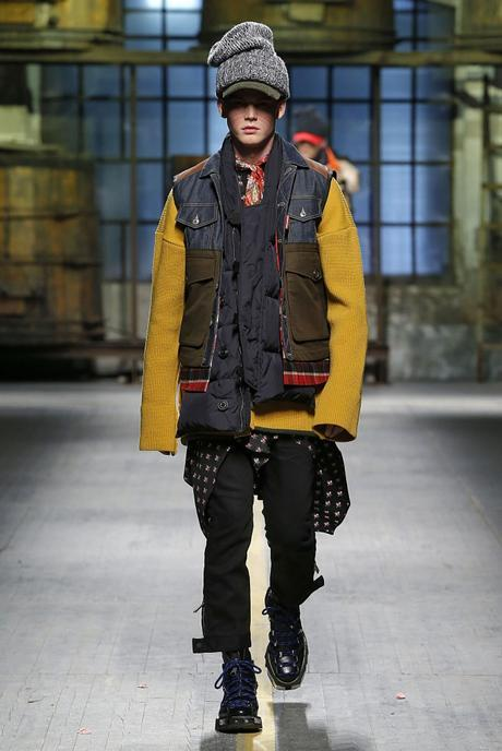 Dsquared – Fashion Week Homme Milan Automne-Hiver 2017-2018