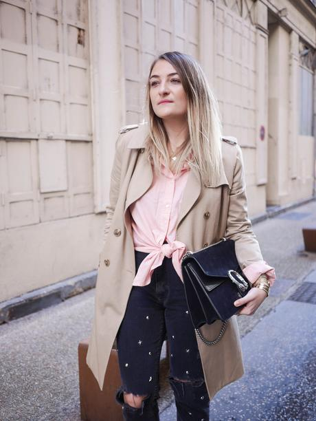Le Trench Beige