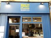 Poulet Poulette, chicken fast good Montparnasse