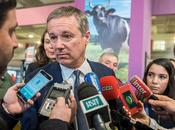 Nicolas Dupont-Aignan Salon l'Agriculture