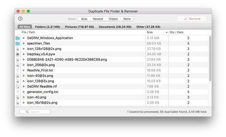 Duplicate File Finder & Remover chasse les doublons sur Mac