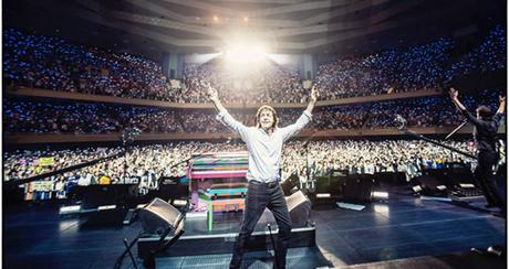 Paul McCartney : un concert de plus au Japon #oneonone
