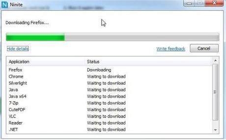 Ninite : Réinstaller tout ses logiciels en une fois