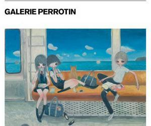 Galerie PERROTIN Paris exposition AYA TAKANO « The jelly civilization chronicle »  16/MARS  au 13 MMAY 2017