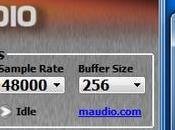 Périphériques audio, paramètres tampon dans MAGIX Music Maker Premium