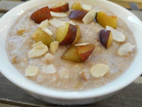 petit déjeuner au quinoa et avoine