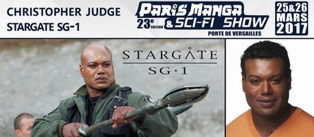 Christopher Judge invité à Paris