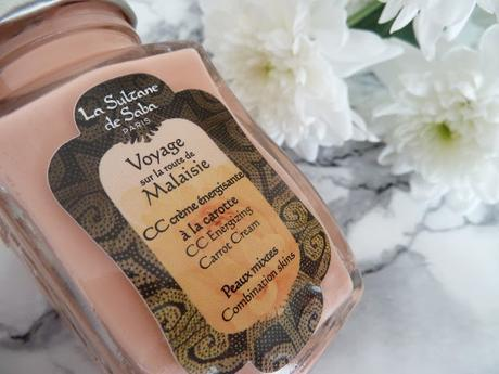 CC Crème énergisante à la carotte La Sultane de Saba, le secret d'une bonne mine