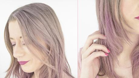 Les cheveux licorne arc-en-ciel, avec les colorations temporaires ColorPop et ColorStreak de Dippity-Do 🦄