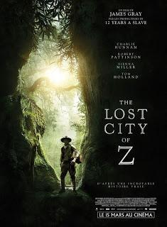Cinéma: The Lost City of Z