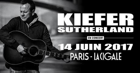 Kiefer Sutherland sera en concert à Paris le 14 Juin 2017 à la Cigale
