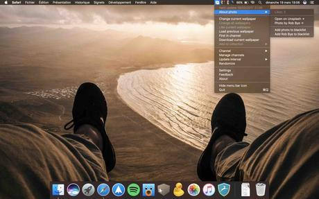 Irvue sur MacBook