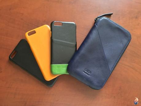 Alto cases: étuis en cuir impeccables pour iPhone 7