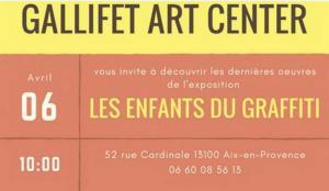 GALLIFET  ART CENTER  à AIX en Provence Programme 2017