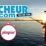 Pecheur.com et playeur.co s'associe pour rendre la pêche accessible à tous