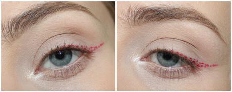 #MSC : liner en pointillés entièrement réalisé avec un liquid lipstick