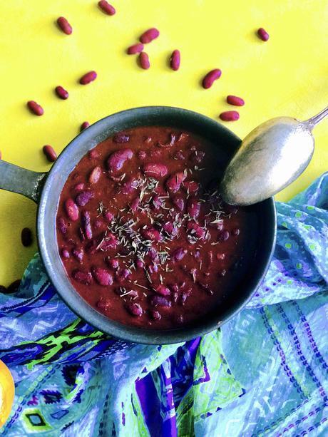 Fricassée de haricots rouges à la Mauricienne : idéale pour accompagner un rougaille !
