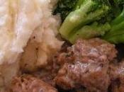 Boulettes veau sauce