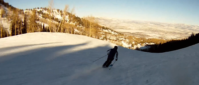 Skier solo