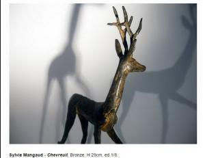 Galerie Géraldine BANIER   » D'Or et de Bronze »  31 Mars au 27 Mai 2017