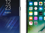 Comparatif Samsung Galaxy iPhone