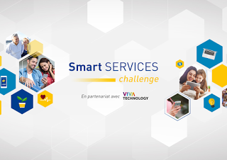 l'occasion Viva Technology, Poste lance challenge Smart Services