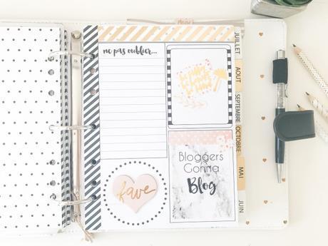 Je vous présente mes planners | Blog, fitness, personnel…