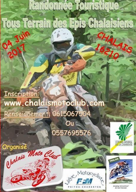 Rando des Epis Chalaisiens du Chalais MC (16), le 4 juin 2017