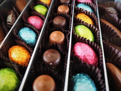 Coffret chocolats pralinés Concours Pâques Paris Chocolat Romainparis