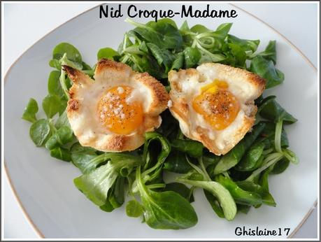 Nid Croque-Madame
