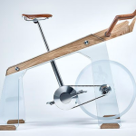 DESIGN : Freeride a bike made from glass, wood and steel