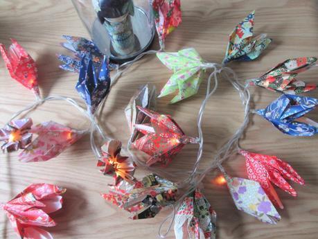 DIY #14 : une guirlande lumineuse en origami