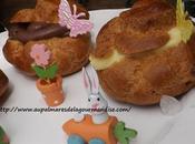 Petits choux Pâques créme Pâte l'huile, Fiberpasta sans beurre*