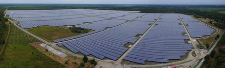 Photo : La plus grande centrale photovoltaïque d'Europe